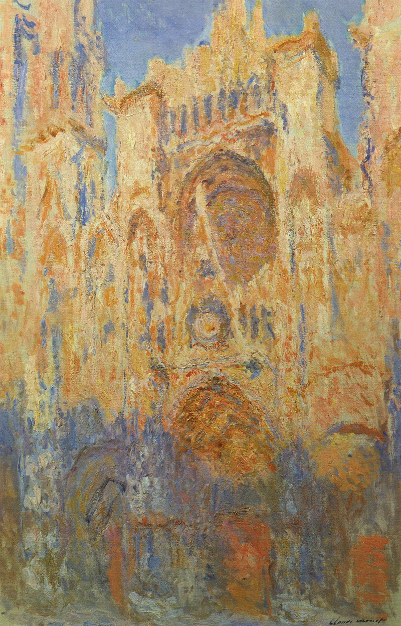 Claude_Monet_-_Rouen_Cathedral,_Facade_(Sunset)