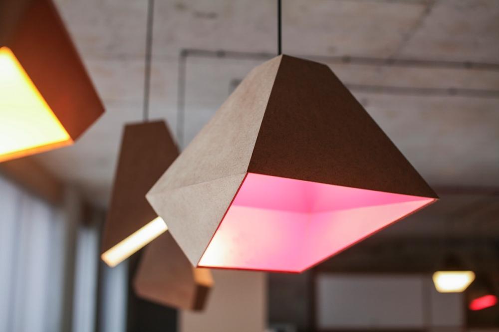 trapezoid lamp